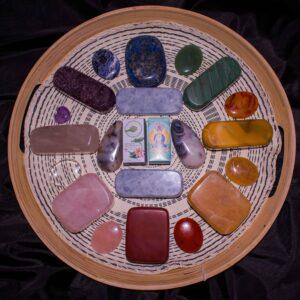 Crystal Stone Body Set
