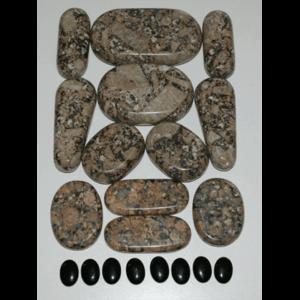 Granite & Marble Massage Sets